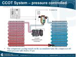 ccot system pressure controlled