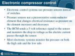 electronic compressor control1