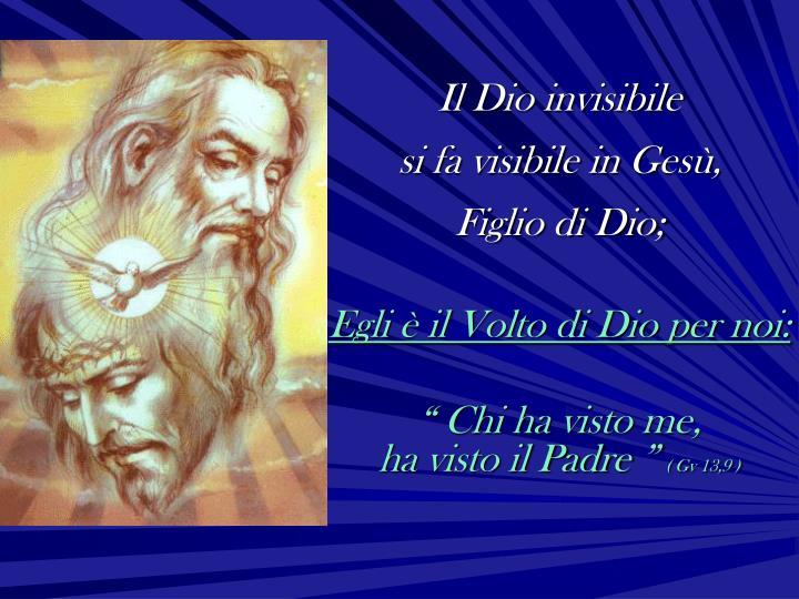 Il Dio invisibile