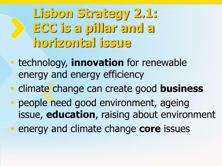 Lisbon Strategy 2.1: