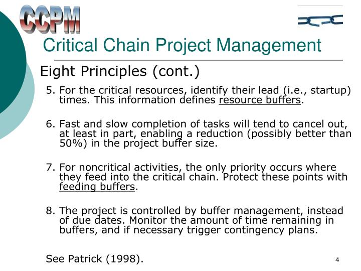 critical chain project management Ciras: a description of the toc services and resources available from the center for industrial research and service at iowa state university.