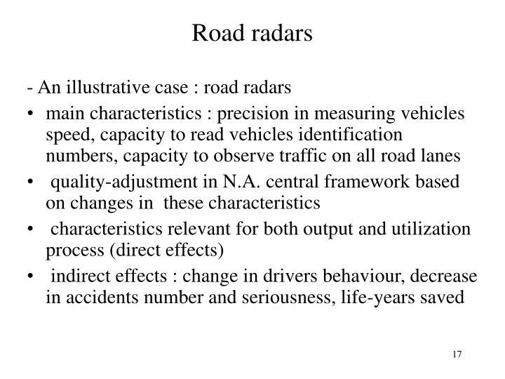 Road radars