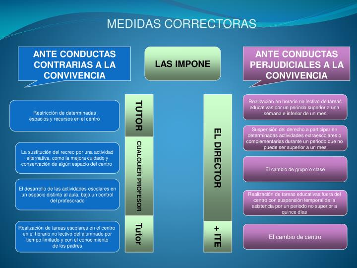 MEDIDAS CORRECTORAS
