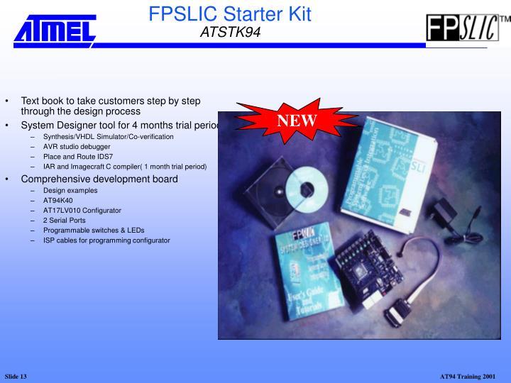 FPSLIC Starter Kit