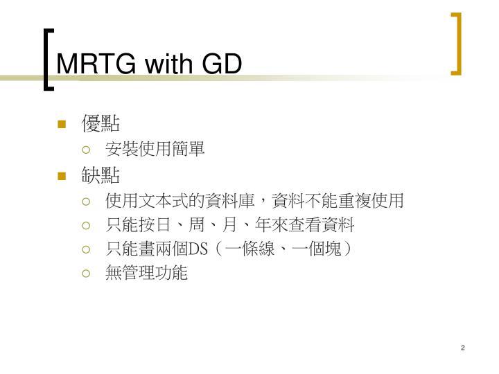 MRTG with GD