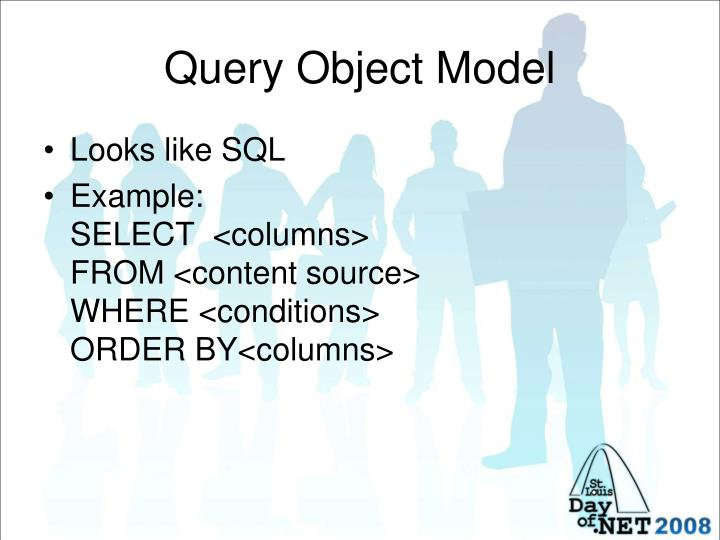 Query Object Model