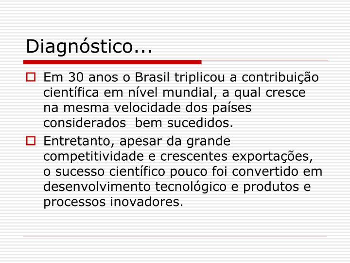 Diagnóstico...
