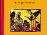 la religion musulmane