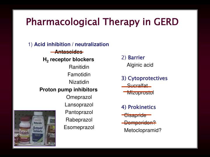 Pharmacological Therapy in GERD