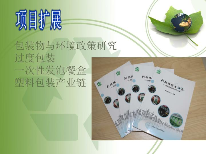 包装物与环境政策研究