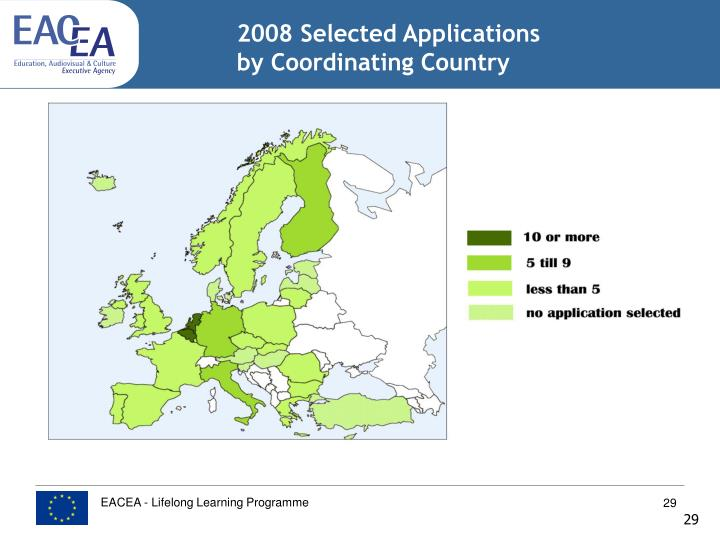 2008 Selected Applications