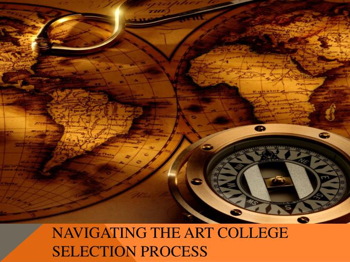 Navigating the art college selection process