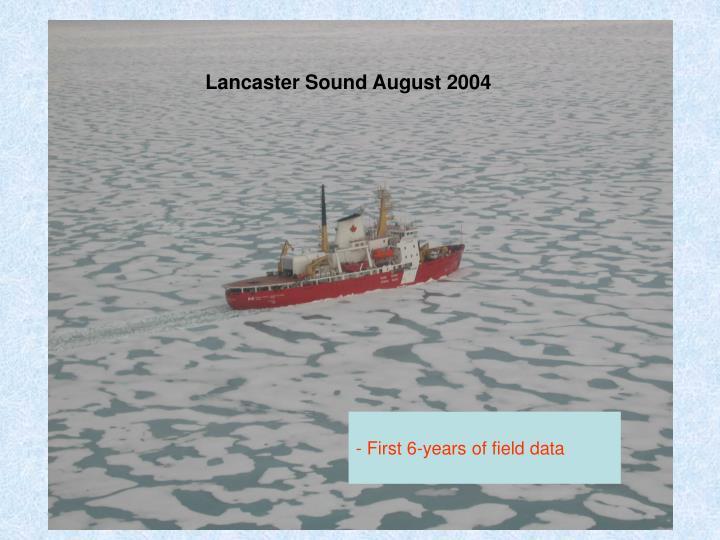 Lancaster Sound August 2004
