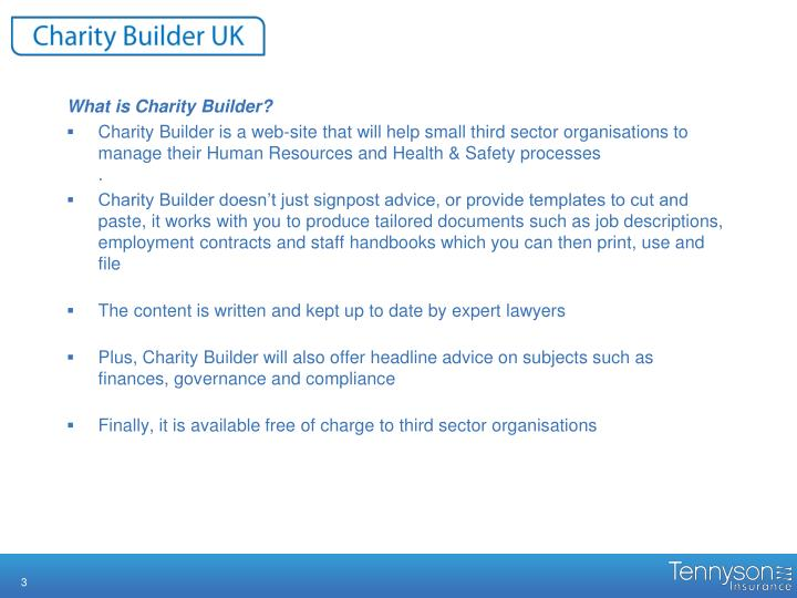 What is Charity Builder?