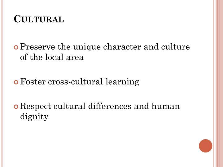Cultural
