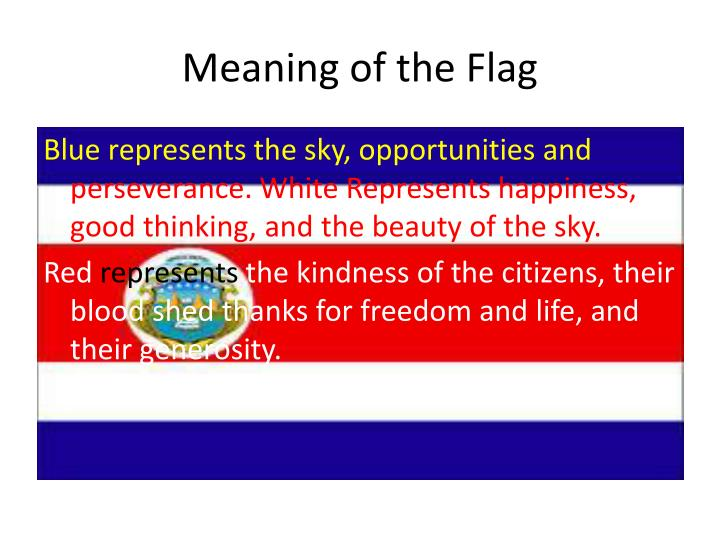 Meaning of the Flag