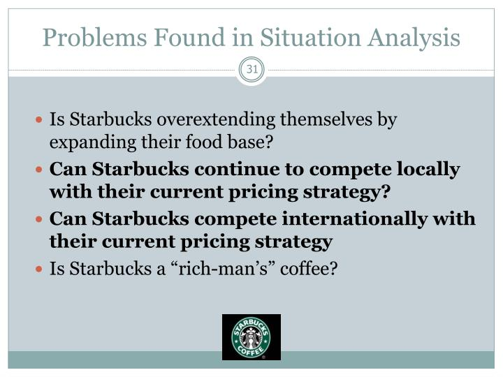 Problems Found in Situation Analysis