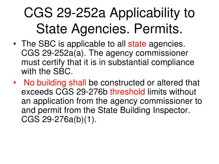 Ct State Building Code Sbc