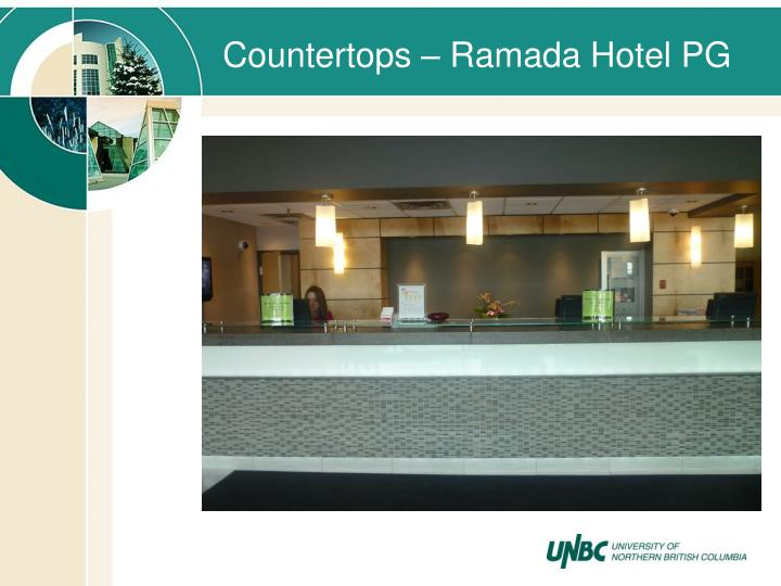 Countertops – Ramada Hotel PG