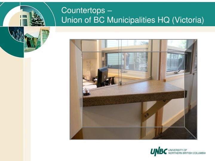 Countertops –