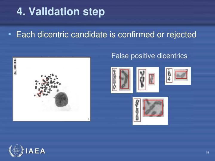 4. Validation step