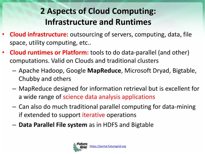 2 Aspects of Cloud Computing: