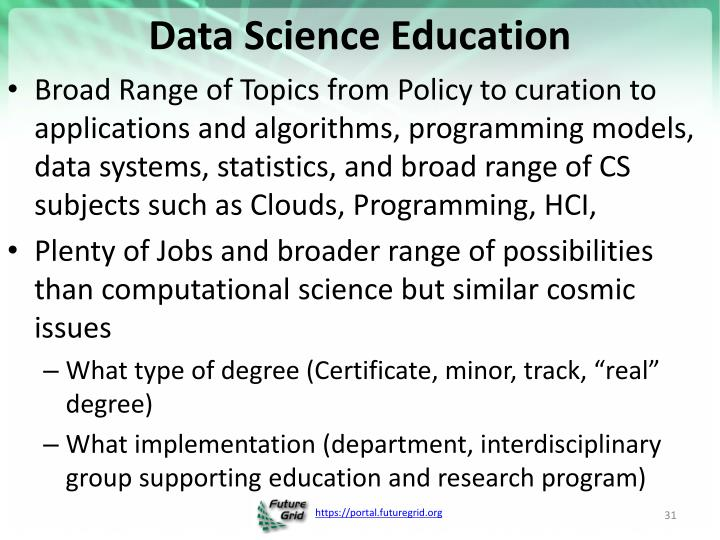 Data Science Education