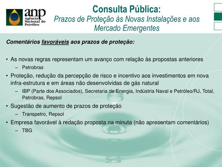Consulta Pública: