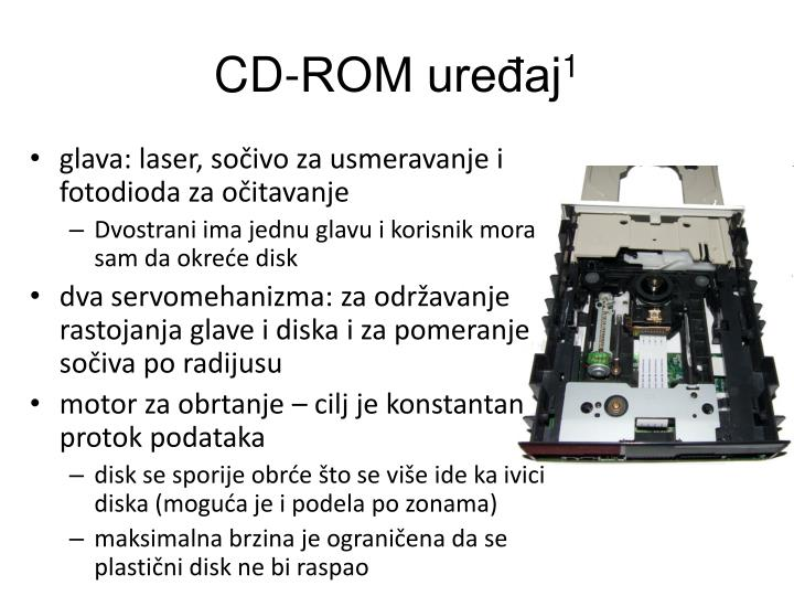 CD-ROM uređaj