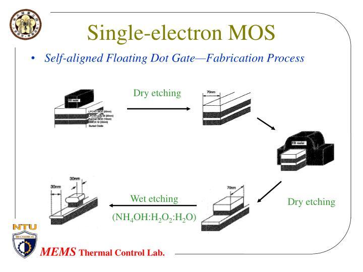Single-electron MOS