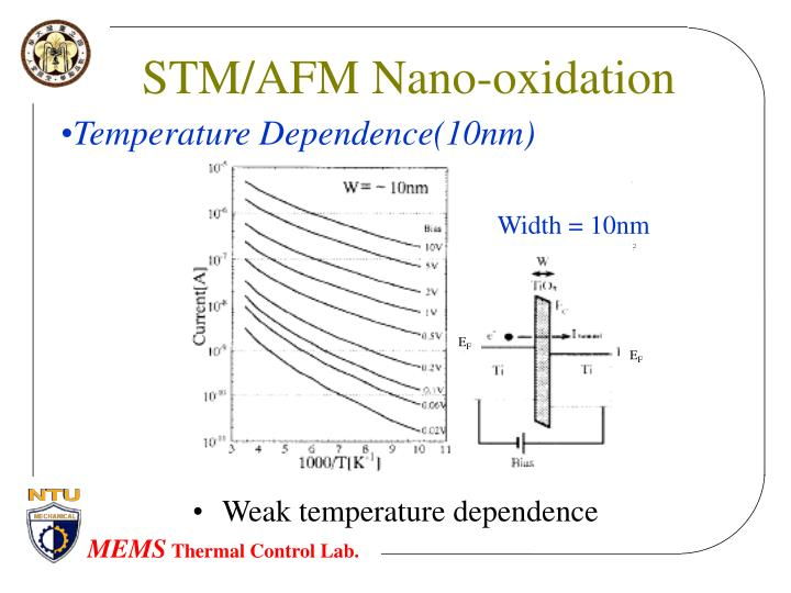 STM/AFM Nano-oxidation