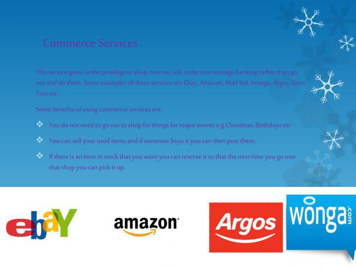 Commerce Services