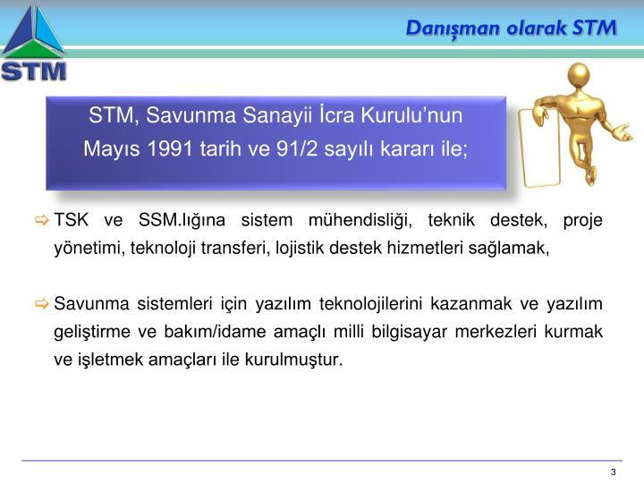 Danışman olarak STM