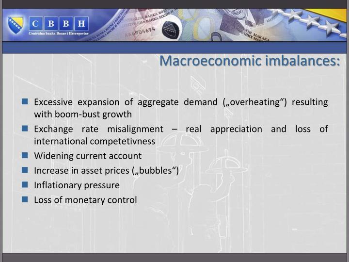 Macroeconomic imbalances: