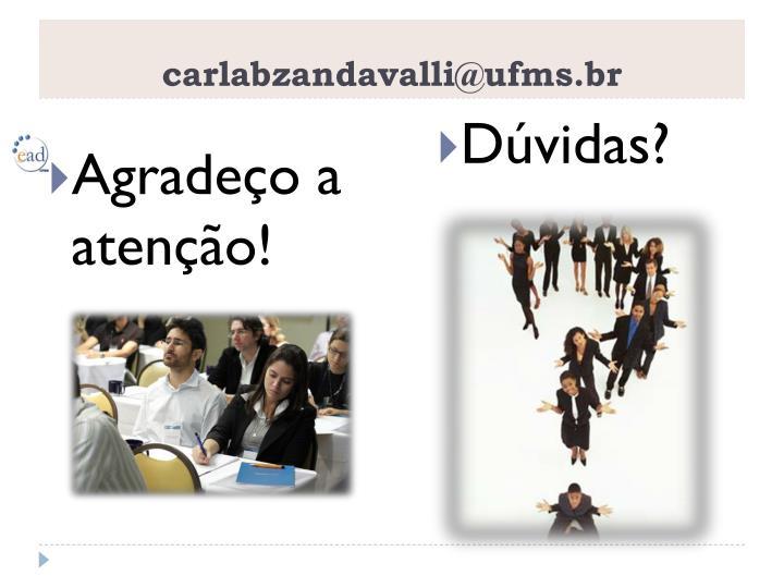 carlabzandavalli@ufms.br