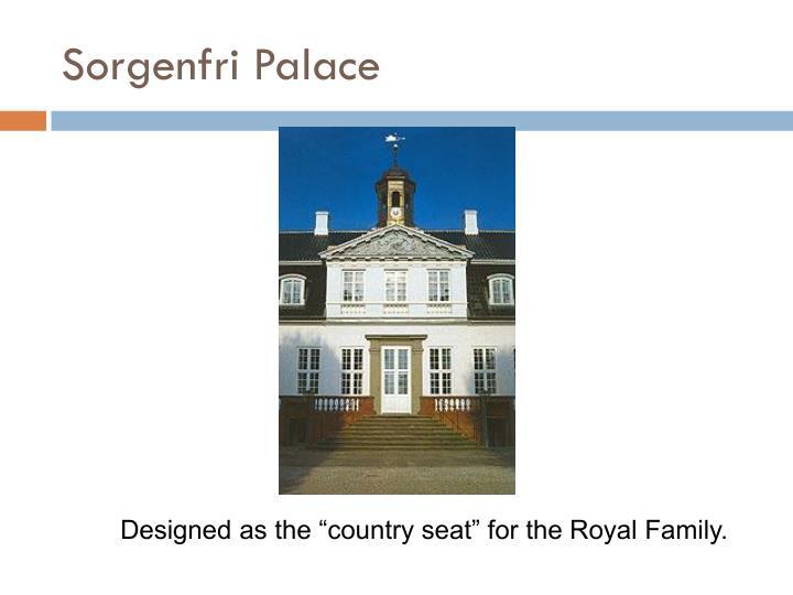 Sorgenfri Palace