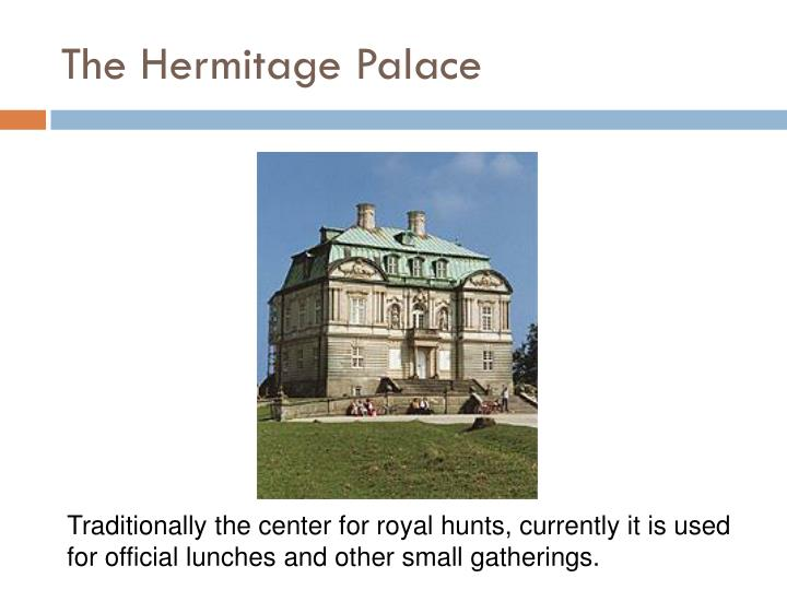 The Hermitage Palace