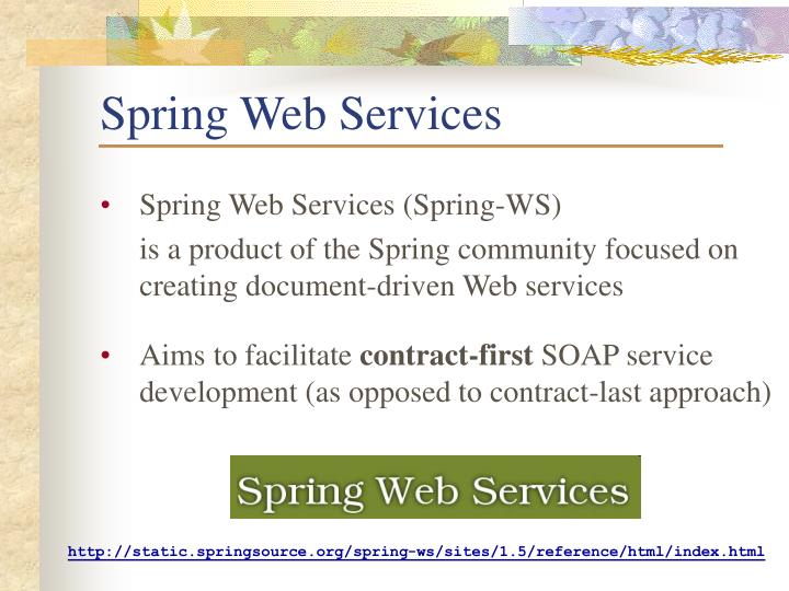 Spring Web Services
