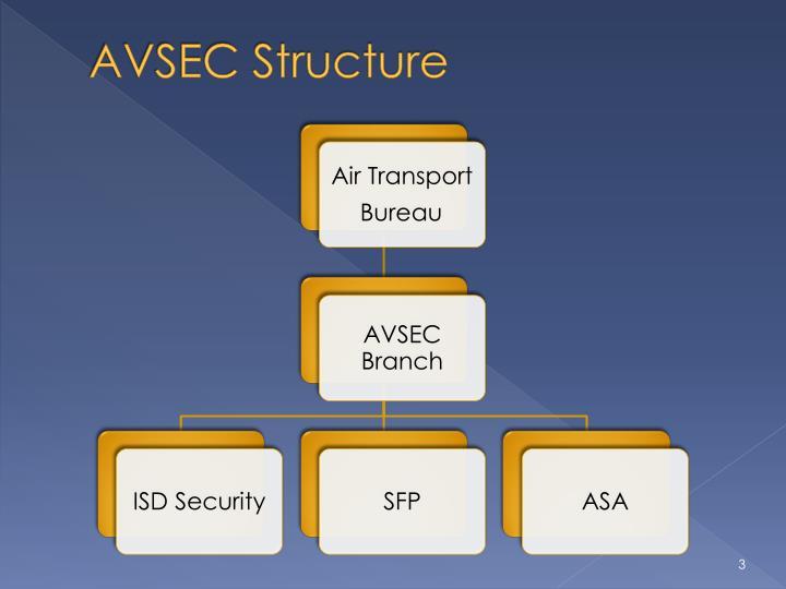 AVSEC Structure