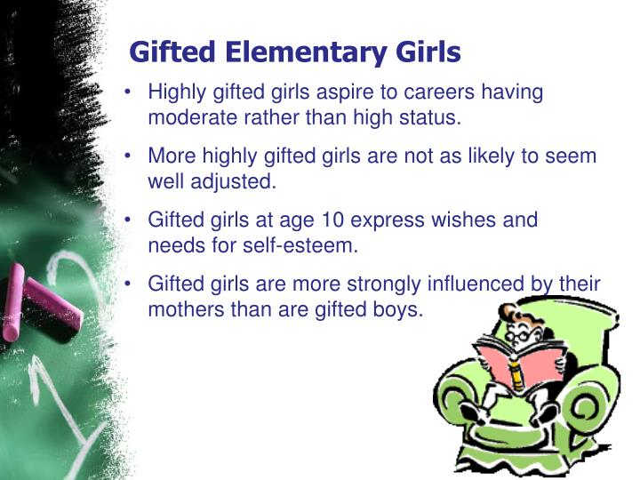 Gifted Elementary Girls