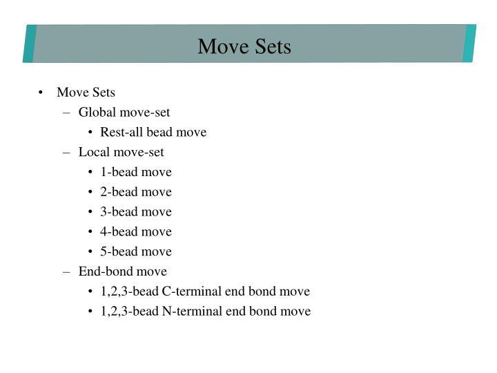 Move Sets