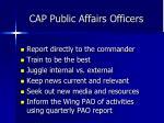 cap public affairs officers
