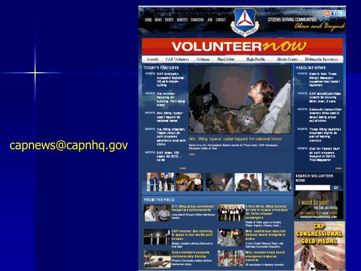 capnews@capnhq.gov