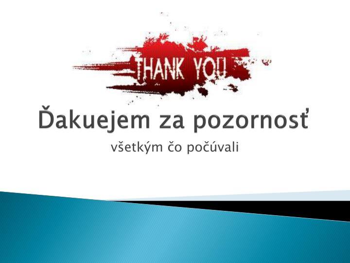 Ďakuejem