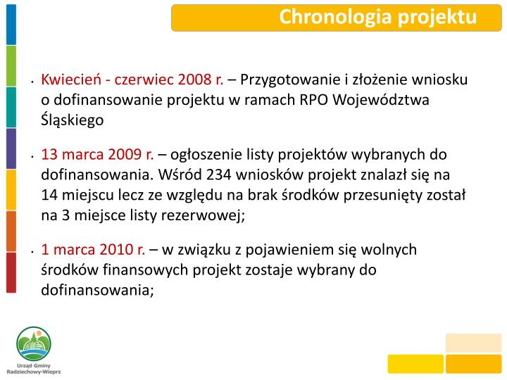 Chronologia