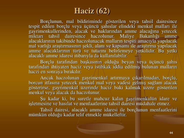 Haciz (62)