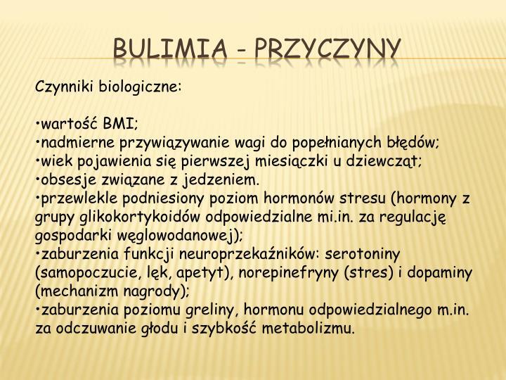 Bulimia -