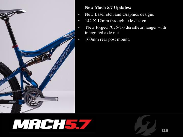 New Mach 5.7 Updates: