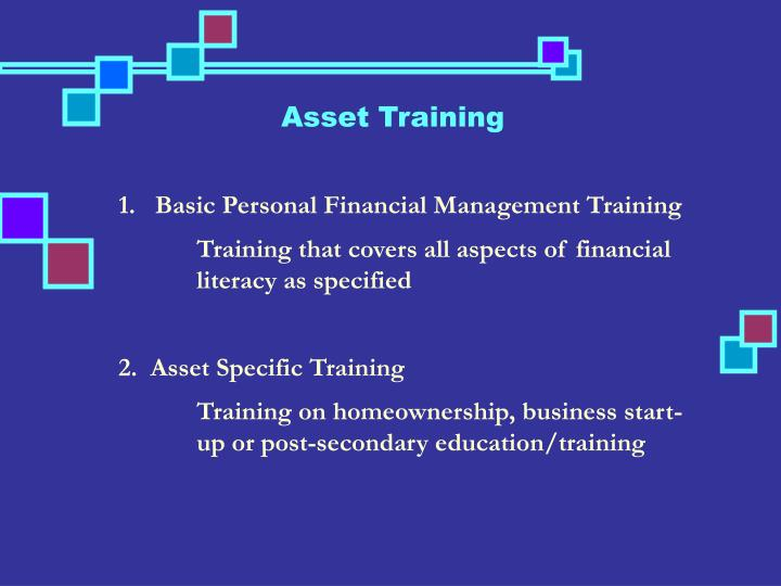 Asset Training