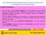 d propuestas de ense anza para la inclusi n institucional y la progresi n en los aprendizajes1